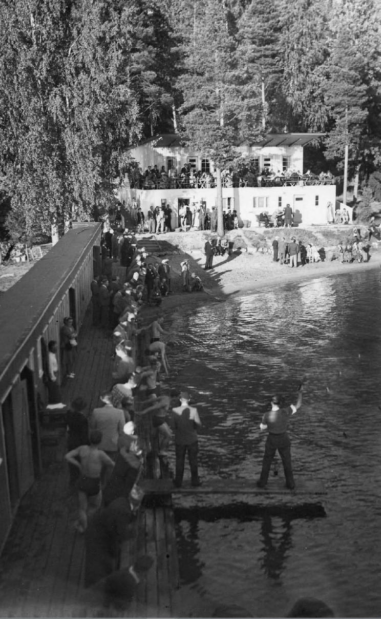 Vuohensaaren uimakoulun päättäjäiset