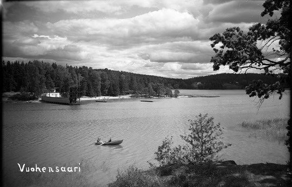 Vuohensaaren uimaranta Kuva Salon kaupungin valokuva-arkisto